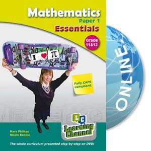 Grade 11 and 12 Essentials Mathematics Paper 1