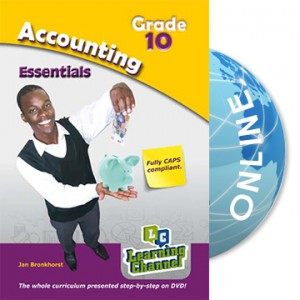 Grade 10 Essentials Accounting