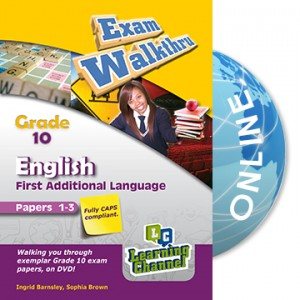 Grade 10 Exam WalkThru English FAL Paper 1 and 3