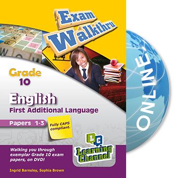 What should I know for a grade 10 english exam?